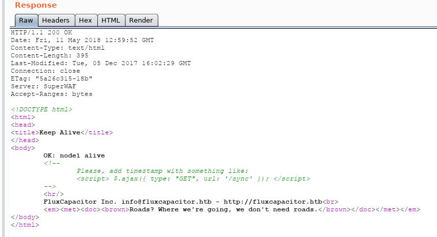 FluxCapacitor – HacktheBox – OffSecNewbie com
